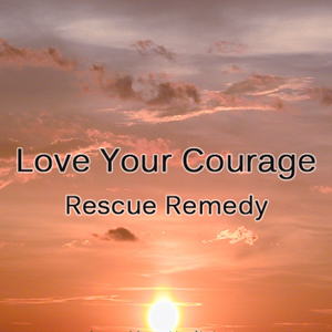 Love Your Courage Rescue Remedy